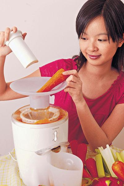 蔬果榨汁飲 恐損腸胃