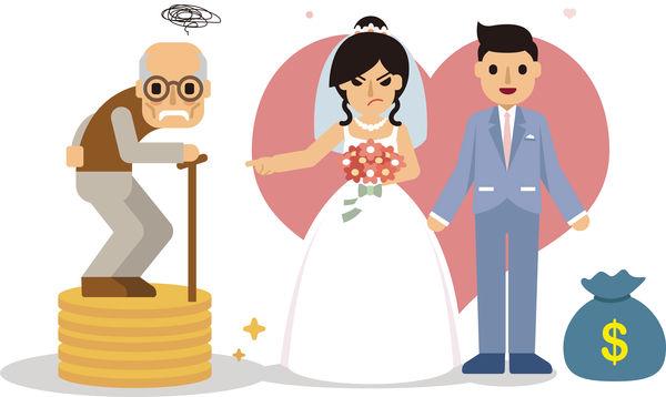 已收禮金為由 港女拒婚後供養父母