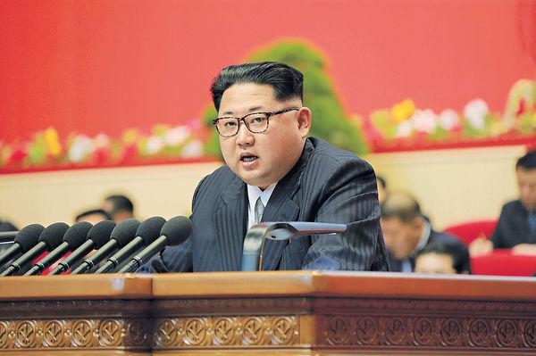 金正恩稱推無核化 「敵不動朝不動」