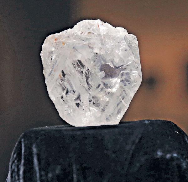 1109卡天然巨鑽 拍賣價料$5.5億