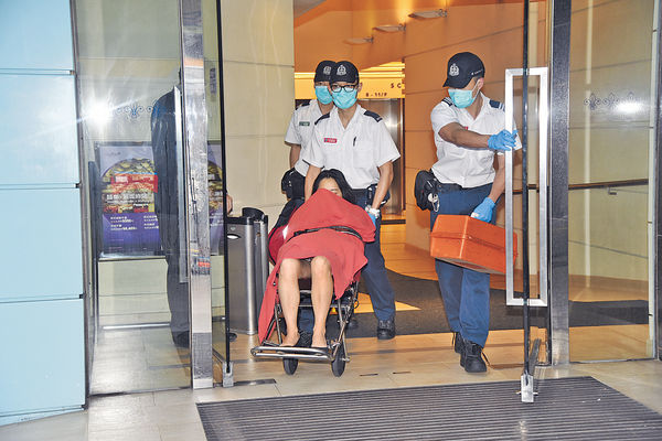 酒店房爭執 港女遭內地男友打傷