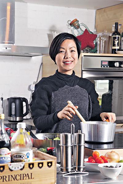 名廚之女 傳播健康飲食正能量