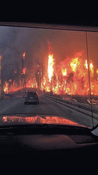 焚毀1600房屋 加國山火未受控