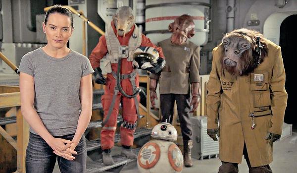 Daisy Ridley拍片賀星戰日