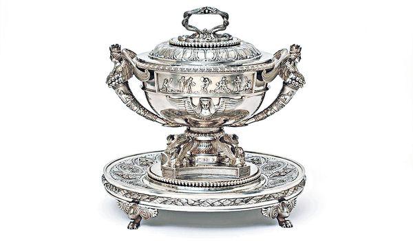 欣賞英國銀器工藝