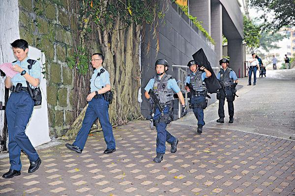 13歲童玩氣槍 反恐隊烏龍大搜捕