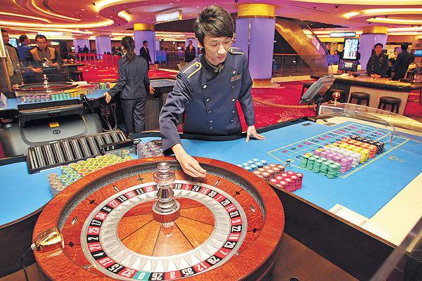 澳門4月賭收 按年跌9.5%勝預期