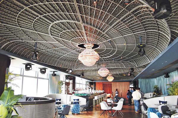 海景餐廳酒吧 華麗登陸天文台道