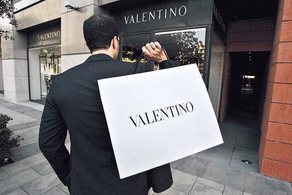 VALENTINO今起減價 最多18%