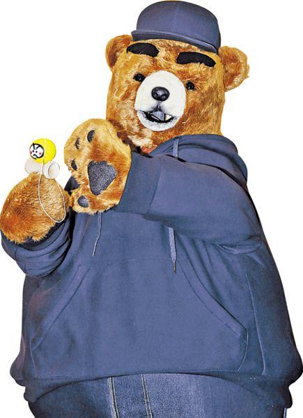熊出沒注意! 元氣代言熊登陸朗豪坊