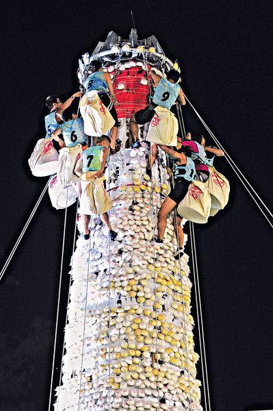 長洲周日舉行搶包山選拔賽