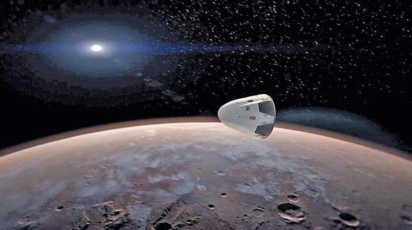 2018美企無人太空船 上火星