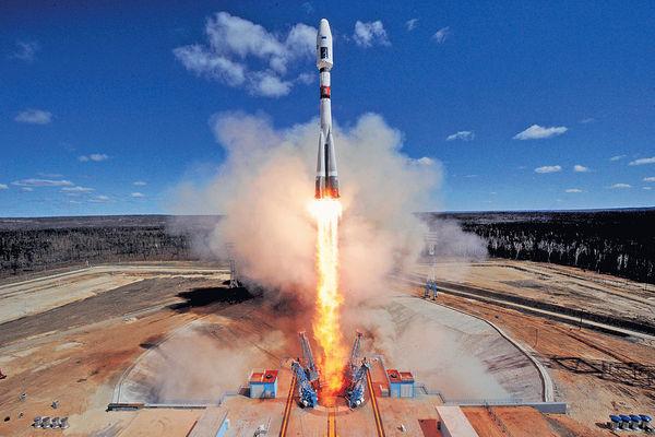 俄新太空中心首射火箭