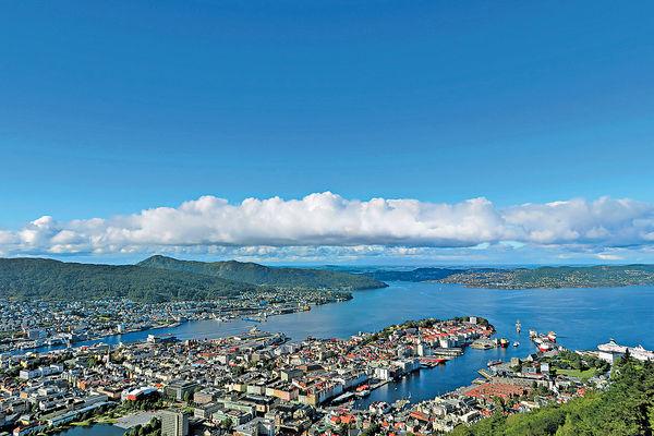 挪威童話小城Bergen