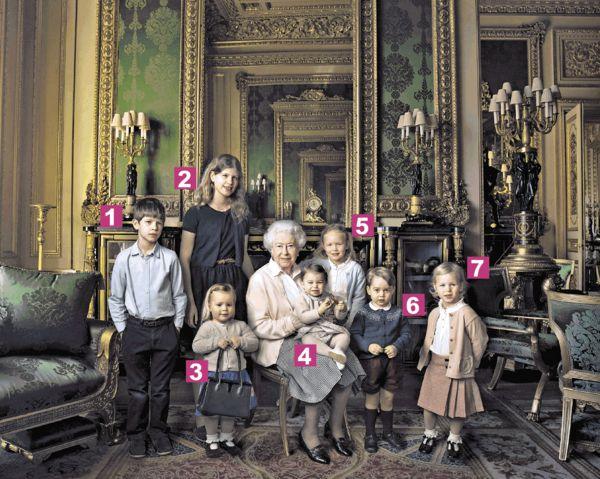 英女皇與民慶90大壽 眾孫拱照真•溫馨