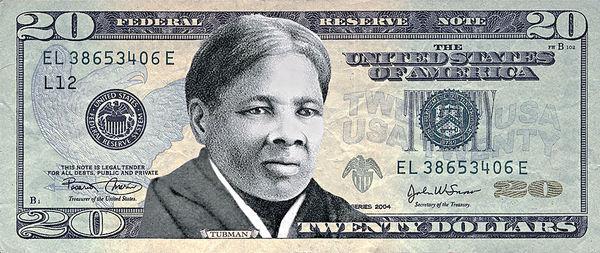 反奴隸女鬥士 美鈔首現黑人頭像