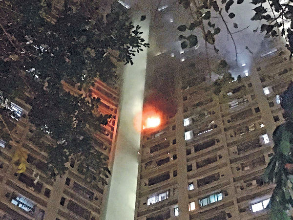 電腦爆炸噴火 獨居男燒傷命危