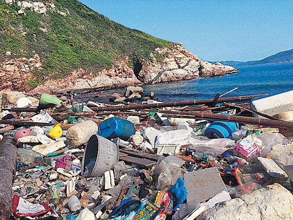 石澳有個垃圾灣