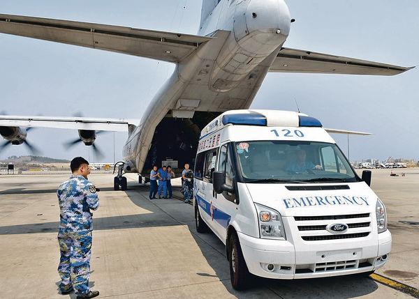 中國軍機 首降南海永暑礁