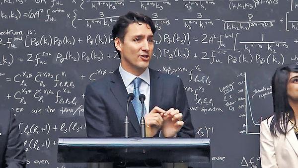 記者問量子電腦學 加型男總理展才華