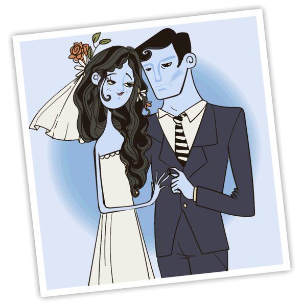 「神級」婚照 新人慘變阿凡達