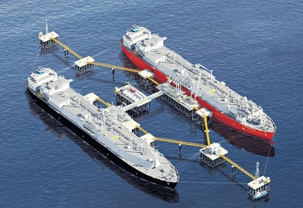 中電擬建海上天然氣接收站