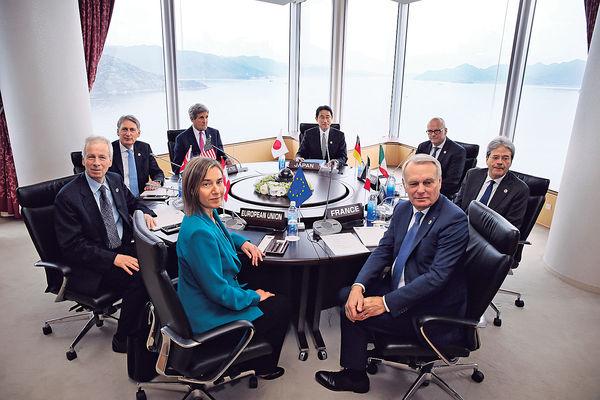 G7外長聲明 暗批中國南海軍事化
