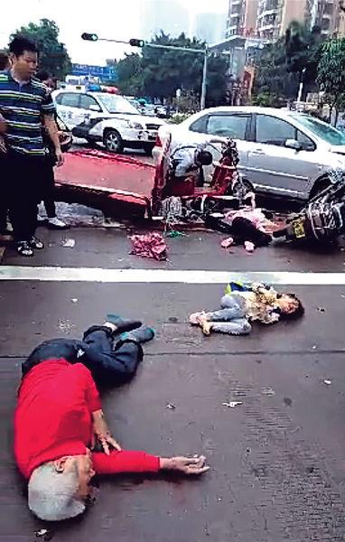 油門當煞車 深司機連撼6車9死傷