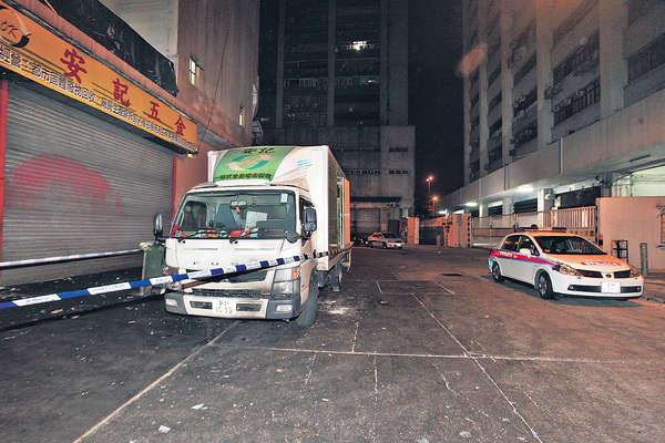 掟燃燒彈燒貨車 警緝兩青年