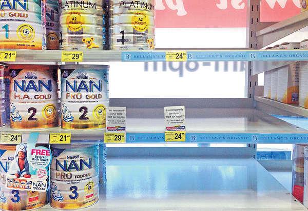 農業部長:出國搶奶粉是乳業恥辱