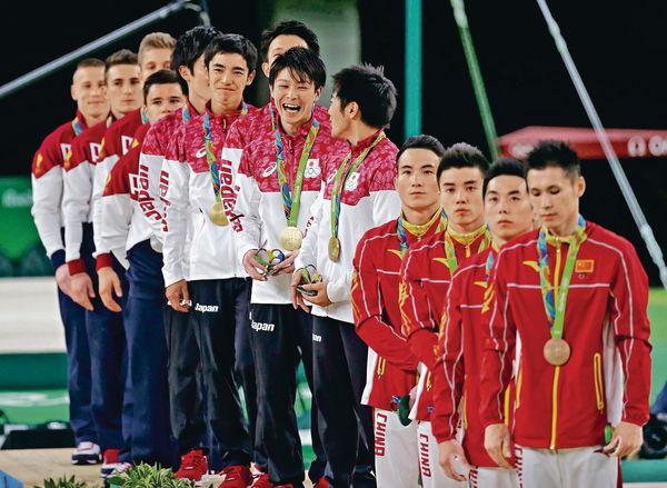 日本贏體操男團 「全能王」衝第二金