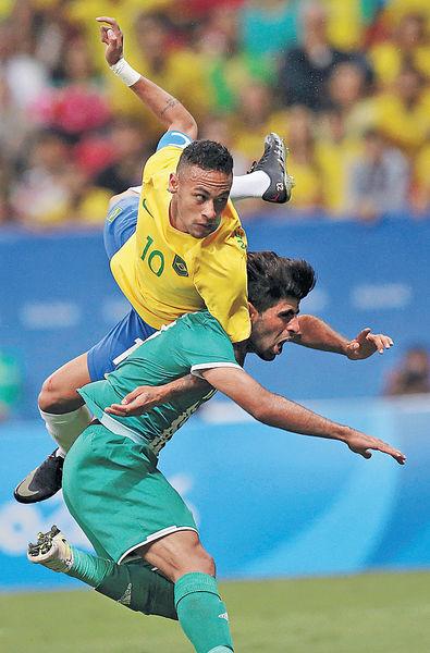 巴西男足出局邊緣