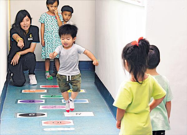幼稚園注入運動課 寓玩樂於學習