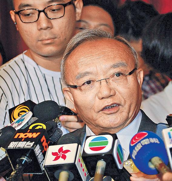 劉兆佳:阻港獨決定 獲中央支持