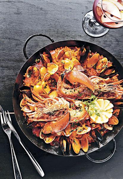 天后夠霸氣 龍蝦西班牙海鮮飯