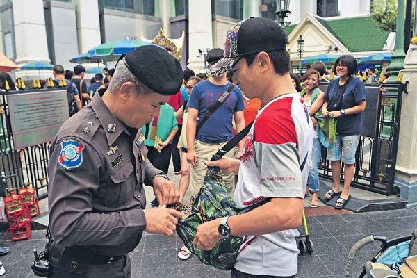 泰政府:已知爆炸案黑手 他信否認涉襲擊
