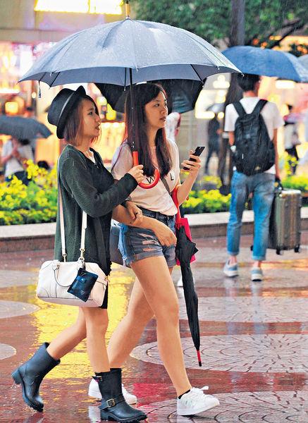 低壓區或變熱帶氣旋 連日狂風暴雨