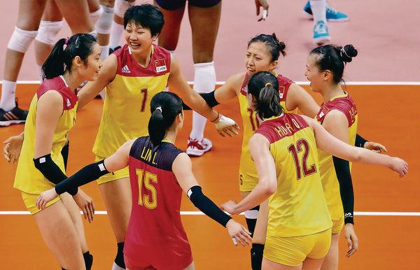 8強硬撼巴西 中國女排難打