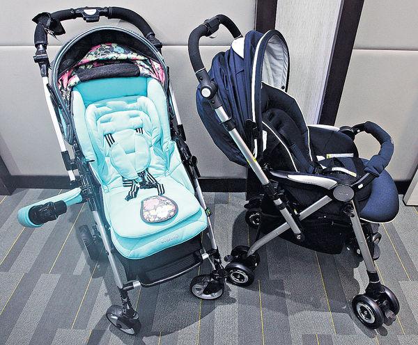 兩款嬰兒車 未達歐美安全標準