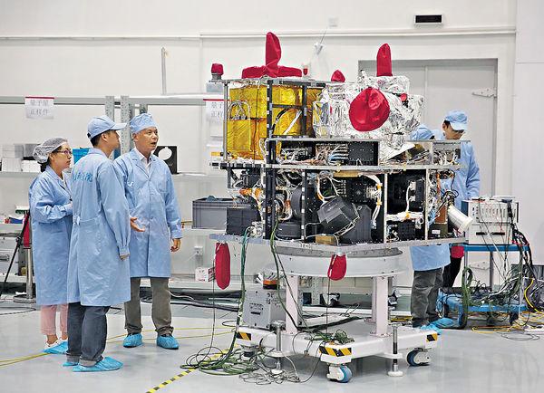 中國本月發射全球首顆量子衞星