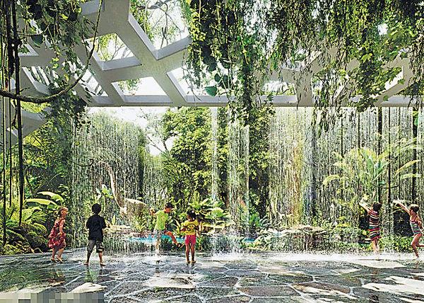 杜拜建首間人造雨林酒店 耗資$23億