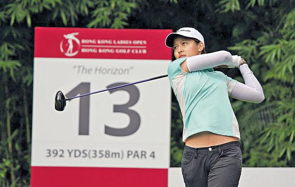 港首位奧運高球手 陳芷澄揮桿