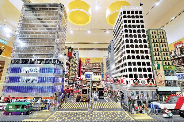 旺角LEGO認證店 限量版積木吸客