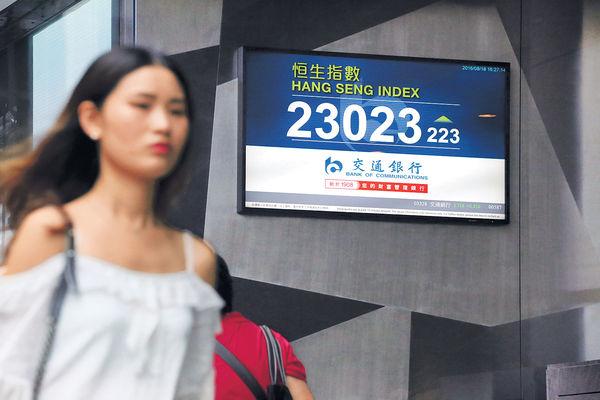 騰訊發威 港股破23000