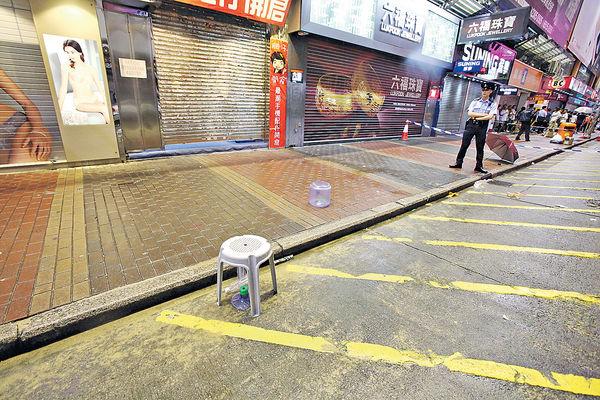吳鎮宇拍新片 天降空樽傷工作人員