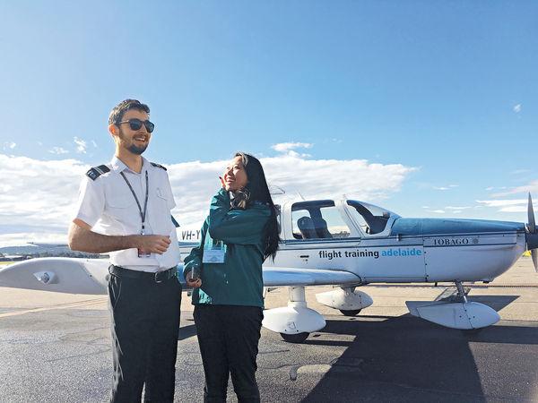4港生澳洲闖天際 飛一般體驗