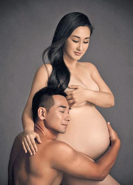 趙文卓陪妻影大肚裸照