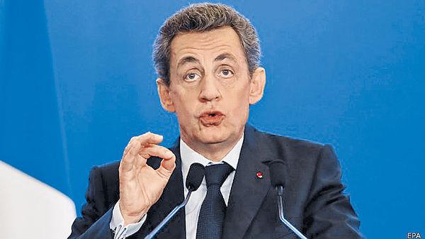 薩爾科齊 再選法國總統