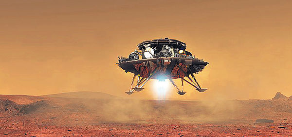 中國火星車首亮相 2020年升空