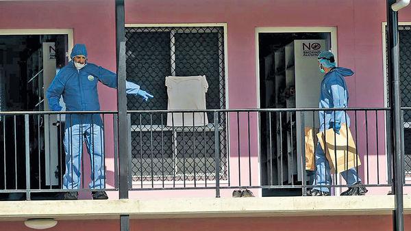 昆士蘭旅館血案 法漢斬死英女